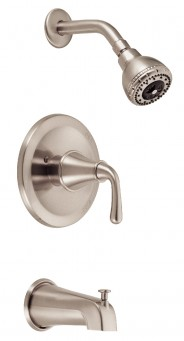 Danze D510056BN Bannockburn Tub and Shower Faucet - Brushed Nickel