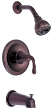 Danze D510056RBT Bannockburn Tub and Shower Trim Kit - Oil Rub Bronze