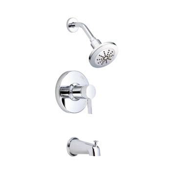 D511030T Danze Amalfi Single Handle Pressure Balance Tub & Shower Trim Only - Chrome