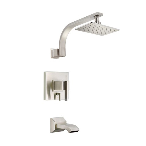 Danze D512044BNT Sirius Tub and Shower Trim Kit - Brushed Nickel