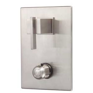 Danze D560044BN Sirius Two Handle Thermostatic Shower Valve with Trim - Brushed Nickel