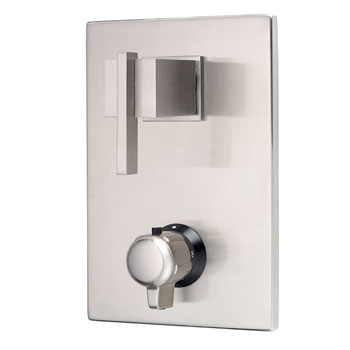 Danze D560144BNT Sirius Two Handle Thermostatic Shower Trim Kit - Brushed Nickel