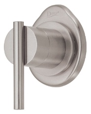 Danze D560858BN Parma Single Handle 4 Port In Wall Shower Diverter Valve and Trim Kit - Brushed Nickel