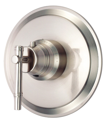 Danze D562045BNT South Sea Single Handle 3/4'' Thermostatic Shower Valve Trim Kit - Brushed Nickel