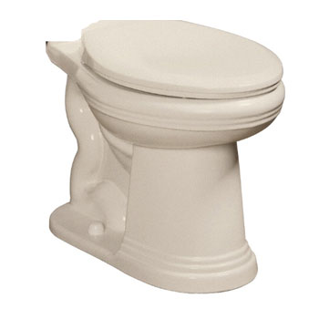 Danze DC013230BC Orrington 2 Piece Toilet Bowl Only - Biscuit