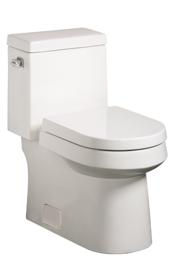 Danze DC031221WH Ziga Zaga One-Piece Toilet - White
