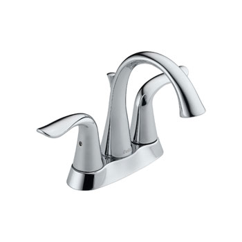 Delta 2538-MPU-DST Lahara Two Handle Centerset Lavatory Faucet with Metal Pop Up - Chrome