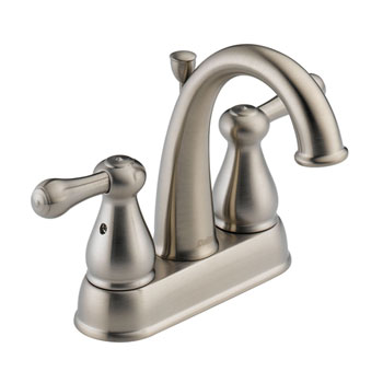 Delta 2575LF-SSMPU Leland Two Handle Centerset Lavatory Faucet - Stainless Steel