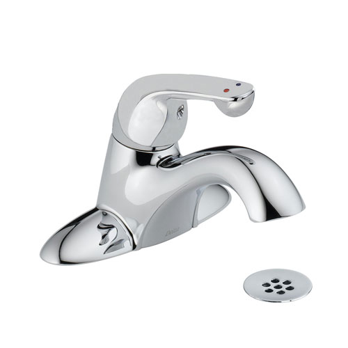 Delta 523LF-HDF Single Handle Centerset Lavatory Faucet - Chrome