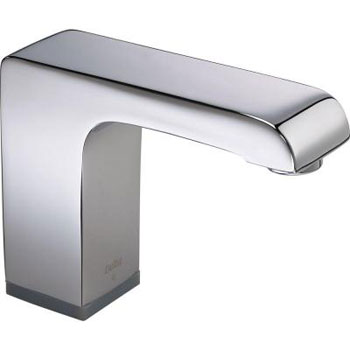 Delta Commercial 601T050 Arzo Battery Operated Single Hole Faucet with Proximity Sensing Technology - Chrome