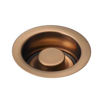 Delta 72030-BZ Classic Garbage Disposal Flange and Stopper - Brushed Bronze