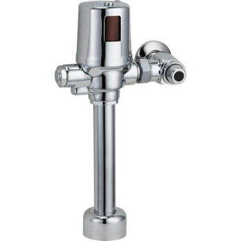 Delta Commercial 81T201BTA Exposed Battery-Operated Flush Valve - Chrome