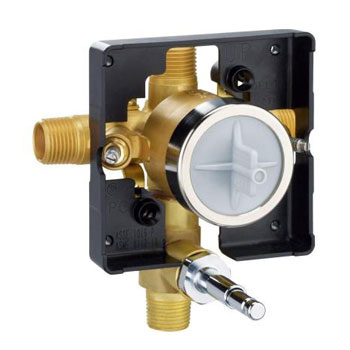 Delta R10300-UNWS Commercial MultiChoice Universal Valve Body with Push Button Diverter