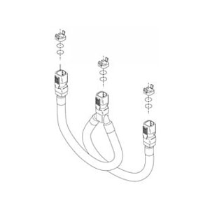 Delta RP44493 Blocks and O-Rings Hose Assembly