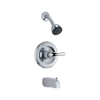 Delta T13420-DPE Classic Monitor 13 Series Tub and Shower Trim - Chrome