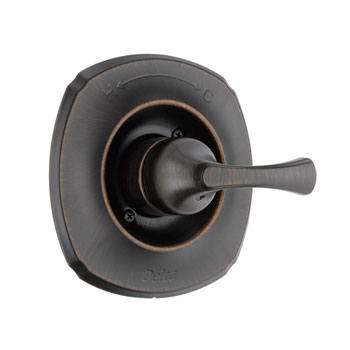 Delta T14092-RB Addison Single Handle Tub/Shower Valve Trim Venetian Bronze