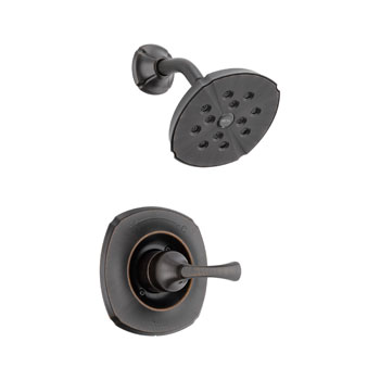 Delta T14292-RB Addison Monitor(R) 14 Single Handle Shower Trim Venetian Bronze