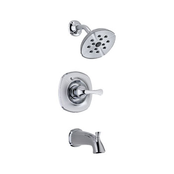 Delta T14492 Addison Monitor(R) 14 Single Handle Tub/Shower Trim Chrome