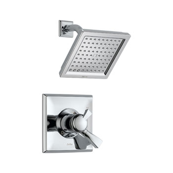 Delta T17251 Dryden Monitor(R) Pressure Balance Shower Trim with Volume Control - Chrome