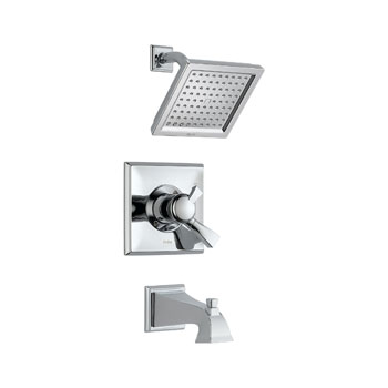 Delta T17451 Dryden Monitor(R) Pressure Balance Tub/Shower Trim with Volume Control Chrome
