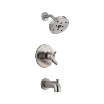 Delta T17459-SS Trinsic 17 Series MC Tub/Shower Trim - Stainless Steel