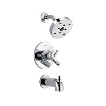 Delta T17459 Trinsic 17 Series MC Tub/Shower Trim - Chrome