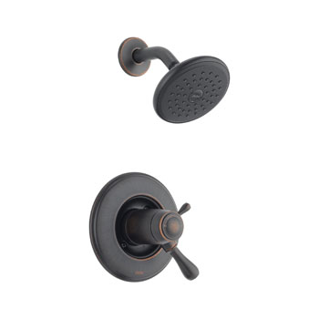 Delta T17T278-RB Leland TempAssure 17T Series Shower Trim - Venetian Bronze