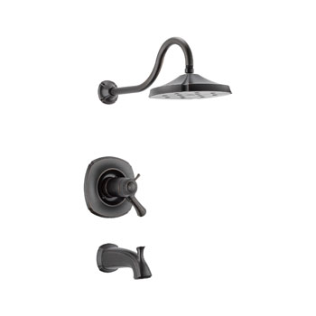 Delta T17T492-RB Addison TempAssure 17T Series Tub and Shower Trim - Venetian Bronze