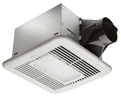 Delta Breez VFB080D4LED1 BreezSignature 80 CFM Exhaust Fan LED Light - White
