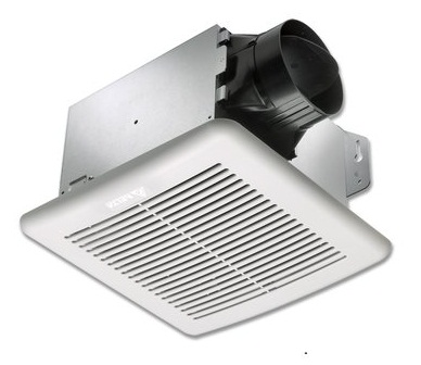 Delta Breez VFB050C4L1 BreezGreenBuilder 50 CFM Exhaust Fan/Light