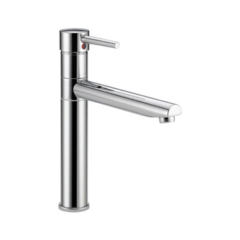 Delta 1159LF Trinsic Single Handle Centerset Kitchen Faucet - Chrome