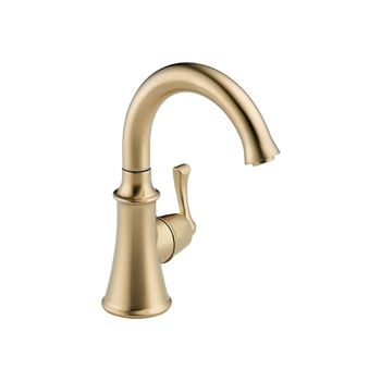 Delta 1914-CZ-DST Traditional Single Handle Beverage Faucet - Champagne Bronze