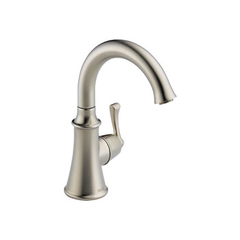 Delta 1914-SS-DST Traditional Single Handle Beverage Faucet - Stainless Steel