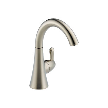 Delta 1977-SS-DST Transitional Single Handle Beverage Faucet - Stainless Steel
