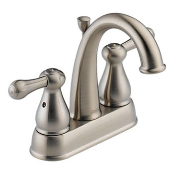 Delta 2575LF-SS Leland Two Handle Centerset Lavatory Faucet Brilliance Stainless