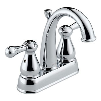 Delta 2575LF Leland Two Handle Centerset Lavatory Faucet Chrome