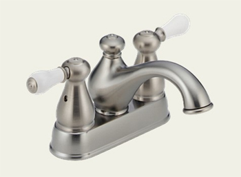Delta 2578-SSLHP Leland Two Handle Centerset Lavatory Faucet Brilliance Stainless