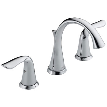 Delta 3538-MPU Lahara Widespread Lavatory Faucet Chrome