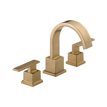 Delta 3553LF-CZ Vero Two Handle Widespread Lavatory Faucet - Champagne Bronze