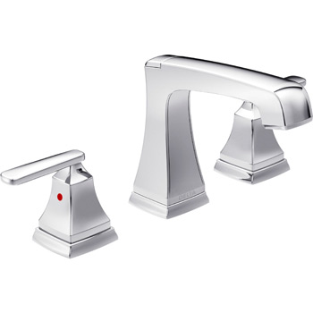 Delta 3564-MPU-DST Ashlyn Two Handle 8 inch  Widespread Lavatory Faucet - Chrome