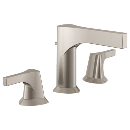 Delta 3574-SSMPU-DST Zura Two Handle Widespread Lavatory Faucet - Stainless