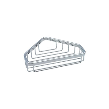 Delta 47000-ST Small Corner Caddy - Bright Stainless Steel