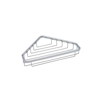 Delta 47100-ST Large Corner Caddy - Bright Stainless Steel