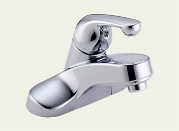 Delta 501 Classic Centerset Single Handle Lavatory Faucet Chrome