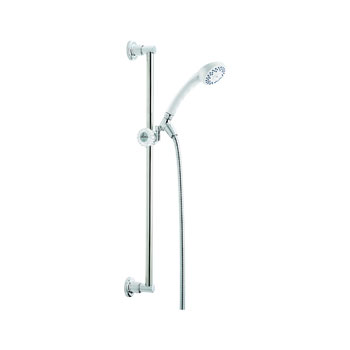 Delta 51501-WH Classic Slide Bar Handshower - White