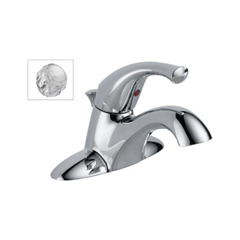 Delta 521-DST-A Classic Single Handle Centerset Lavatory Faucet - Chrome