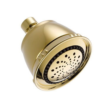 Delta 52678-PB-PK 5 Setting Showerhead - Polished Brass