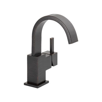 Delta 553LF-RB Vero Single Handle Centerset Lavatory Faucet - Venetian Bronze