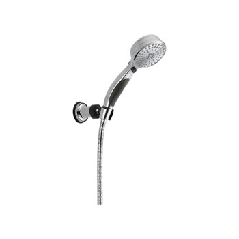 Delta 55424 Contemporary ActivTouch Adjustable Wall Mount Handshower - Chrome