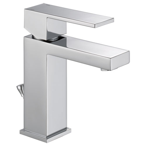 Delta 567LF-PP Modern Single Handle Project-Pack Lavatory Faucet - Chrome